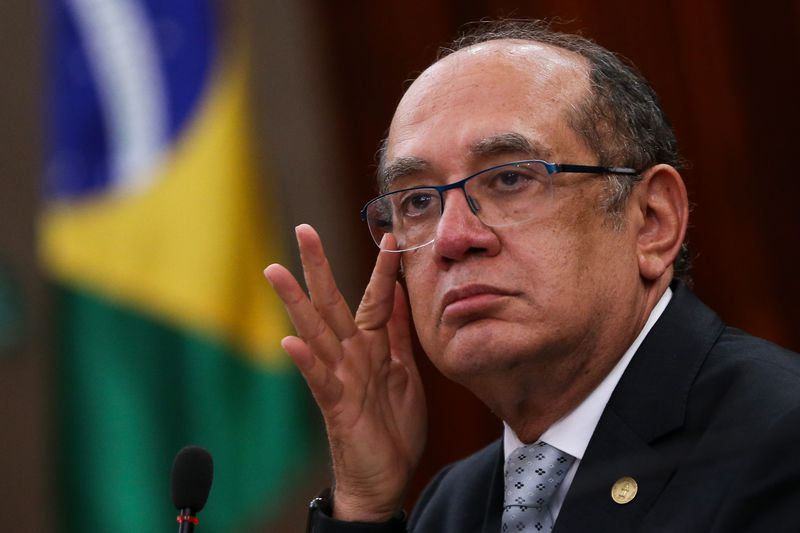 Brasília - Presidente do TSE, Gilmar Mendes, faz balanço dos trabalhos do tribunal e apresenta dados sobre prestações de contas de campanhas referentes às eleições municipais deste ano (Marcelo Camargo/Agência Brasil)