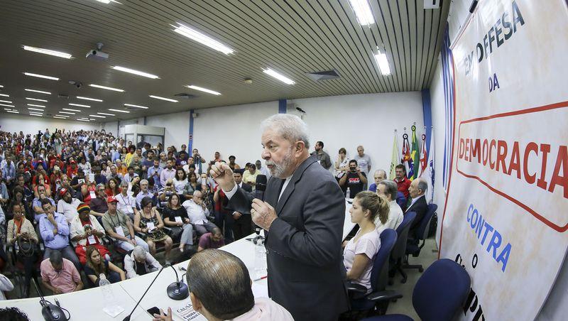 São Paulo - Ex-presidente Lula se reúne com líderes e representantes de Sindicatos e Movimentos Sociais no Instituto Lula (Ricardo Stuckert/Instituto Lula)