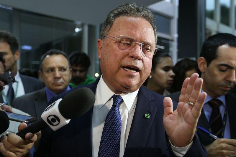 Brasília - O ministro da Agricultura, Pecuária e Abastecimento, Blairo Maggi, fala à imprensa sobre a situação das carnes brasileiras (Fabio Rodrigues Pozzebom/Agência Brasil)