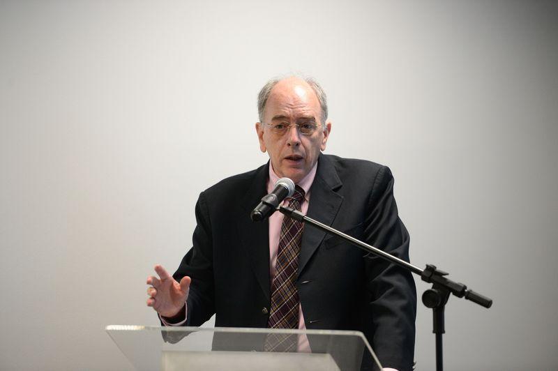 Rio de Janeiro -  O presidente da Petrobrás, Pedro Parente, participa da abertura do seminário  As perspectivas e impactos da nova política de conteúdo local e a importância da regulamentação do Wainer,  realizdo pelo Instituto Brasileiro de Petróleo, Gás e Biocombustíveis (IBP) em sua sede (Tânia Rêgo/Agência Brasil)