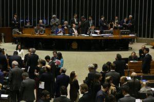 Brasília - Presidente da Câmara dos Deputados, Rodrigo Maia, durante sessão plenária para discussão e votação de diversos projetos (Valter Campanato/Agência Brasil)