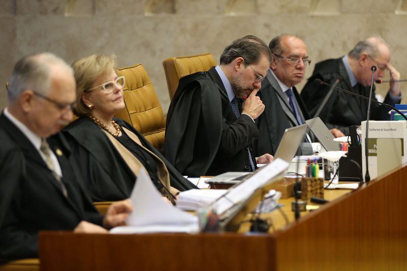 Brasília - Supremo Tribunal Federal (STF) retoma julgamento sobre a suspensão da denúncia apresentada pelo ex-procurador-geral da República Rodrigo Janot contra Temer e integrantes do PMDB (José Cruz/Agência Brasil)