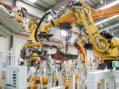 indústria, automação